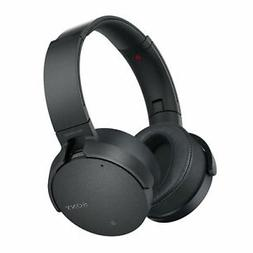 Noise Cancelling, Headphones, Bass Boost, Bluetooth, Sony, W