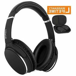 Noise Cancelling Headphones Real Over EarWireless Lightweigh