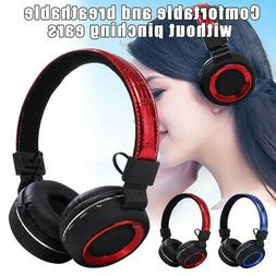 Noise Cancelling Wireless Headphones Bluetooth Headset Over