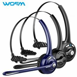 Mpow Pro Trucker Bluetooth Headset Wireless Headphones Over