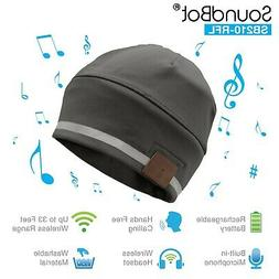 SoundBot SB210 Bluetooth 4.1 Wireless Musical Knit Smart Bea