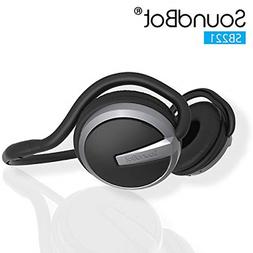 SoundBot¨ SB221 HD Wireless Bluetooth 4.0 Headset Sports-Ac