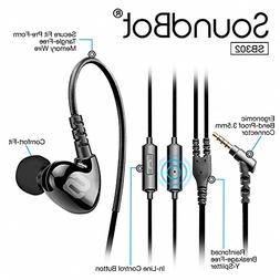 Soundbot SB302 Secure Fit Sports Active Earphone for Smartph