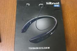 SoundBot SB730 Bluetooth 4.0 Built-in Mic Stereo Headset wit