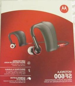 Motorola SF600 Wireless Sports Headphones - Black