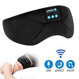 Sleep Headphones Bluetooth Eye Mask, ProCIV Sleeping Mask Wi