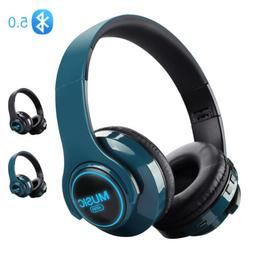 Sport Bluetooth Headphones Wireless Neckband Earbuds In Ear
