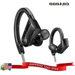 Sports Waterproof Wireless Bluetooth Stereo Headphones Heads