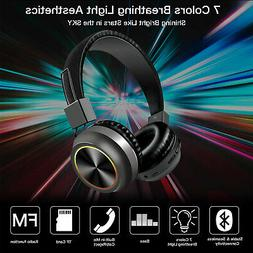 Super Bass Headset Wireless Bluetooth Headphones Foldable St