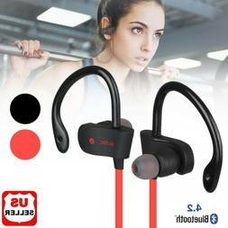 Sweatproof Headphones Wireless Bluetooth Sport Earphones Ste
