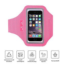 Sweatproof Sports Running Armband, Jeccy Scratch-Resistant W