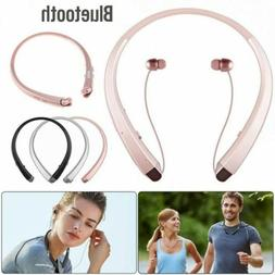 Sweatproof Stereo Neckband Headset Wireless Bluetooth 4.2 Re