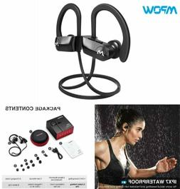Mpow Upgraded D7 Bluetooth Headset Earbuds Wireless Headphon