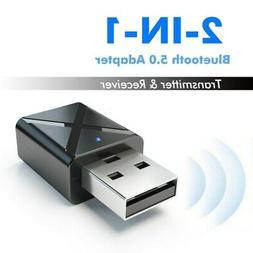 USB Bluetooth Audio Receiver Adapter Transmitter for TV PC A