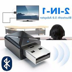 USB Receiver Audio Transmitter Bluetooth 5.0 Adapter For TV/