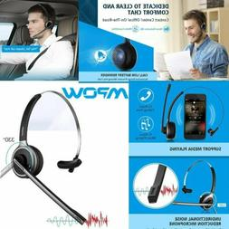 Mpow V4.1 Bluetooth Headset Truck Driver Headset Wireless Ov