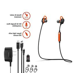 Motorola VerveLoop -HD- Wireless Stereo Earbuds Sweat & Wate