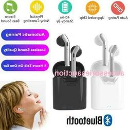 Wireless Bluetooth Earbuds Earphone In-Ear Pods for iPhone S