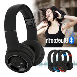 wireless bluetooth headphones over ear hifi stereo
