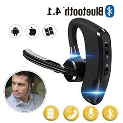 wireless bluetooth headset earpiece buds stereo headphones