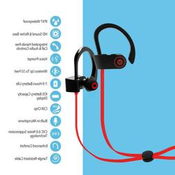 Wireless Headset Headphones Noise Cancelling Sports Earbuds