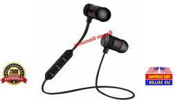 wireless bluetooth sport gym headphones headset earbuds