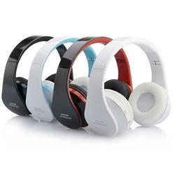Wireless Bluetooth Stereo Headset Headphones Mic for Adult K