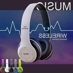 Wireless Headphones Bluetooth Headset Over Ear Foldable Nois