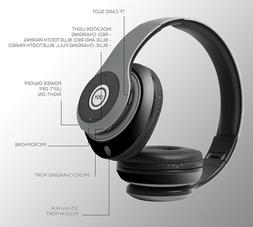 wireless headphones bluetooth over ear headphones foldable