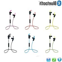 Wireless Sport Earphones Bluetooth V4.1 Earbuds with Mic for